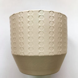 small-cream-patterned-flower-pot