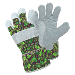 April Raven Tropical Print Gardening Gloves