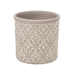 grey-daisy-print-flower-pot
