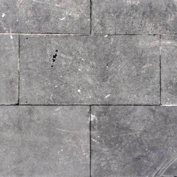 Blue Brushed Irish Limestone Paving Slabs