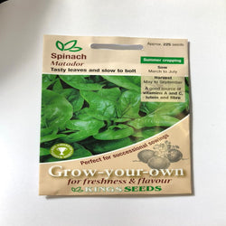 Spinach seeds