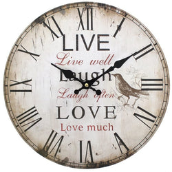 live-laugh-love-clock