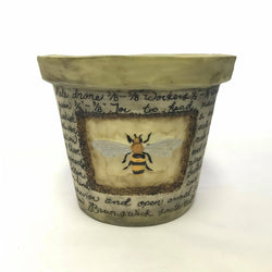small-bee-flower-pot