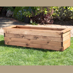 Large Wooden Trough
