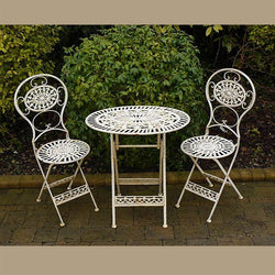 Metal Furniture Set - White