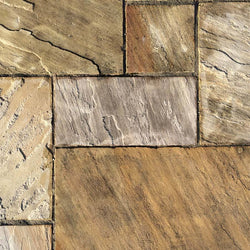 Mint Sandstone Paving Slabs