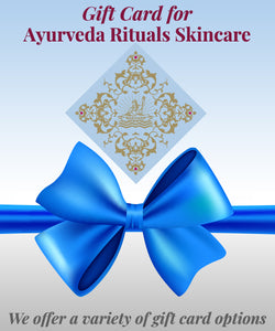 Gift card for Ayurveda Rituals Beauty Products