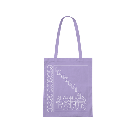 INCREDIBLY LOUD PURPLE TOTE BAG