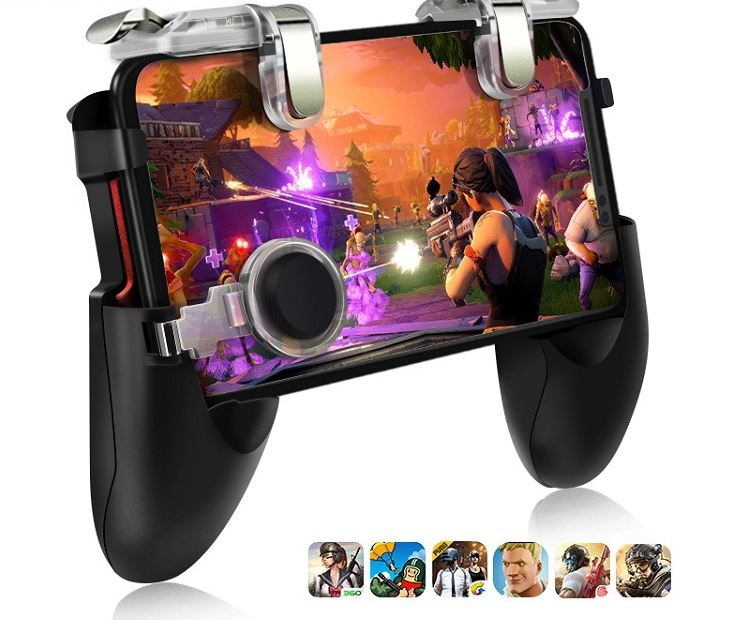 Mobile Controller Trigger Game Button Phone Joystick For Mobile Game - MosQi
