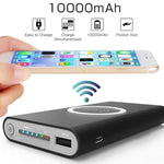 1000mAh Portable Qi Wireless Charger Power bank - MosQi