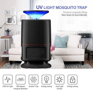 (Super MODE) MOSQUITONITEX - USB POWERED LED MOSQUITO KILLER LAMP [QUIET + NON-TOXIC] (BUY 2 GET 1 FREE) - MosQi