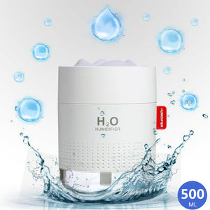 Mini usb humidifier (500ML) + FREE 5 Cotton Swab - MosQi