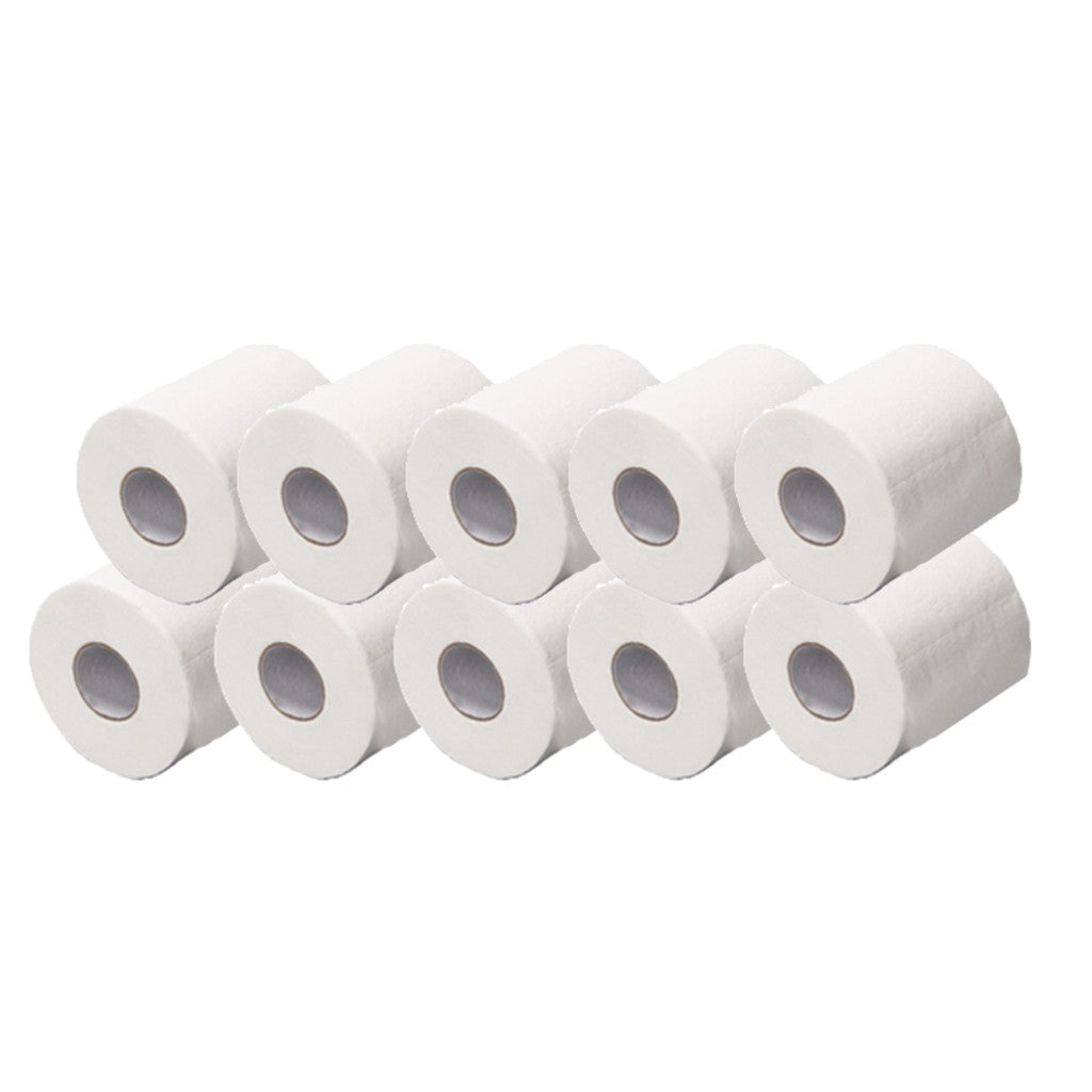 12pcs/bag 3ply White Toilet Tissue (SUPER Value Pack) - MosQi