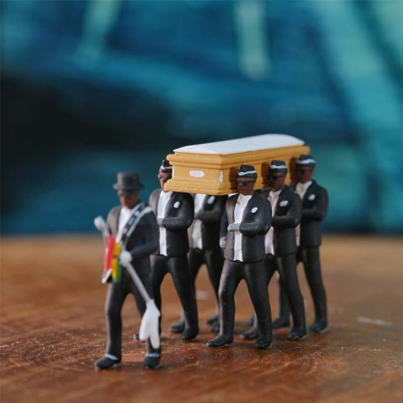 ( The Original ) Handmade Coffin Dancing Figures - MosQi