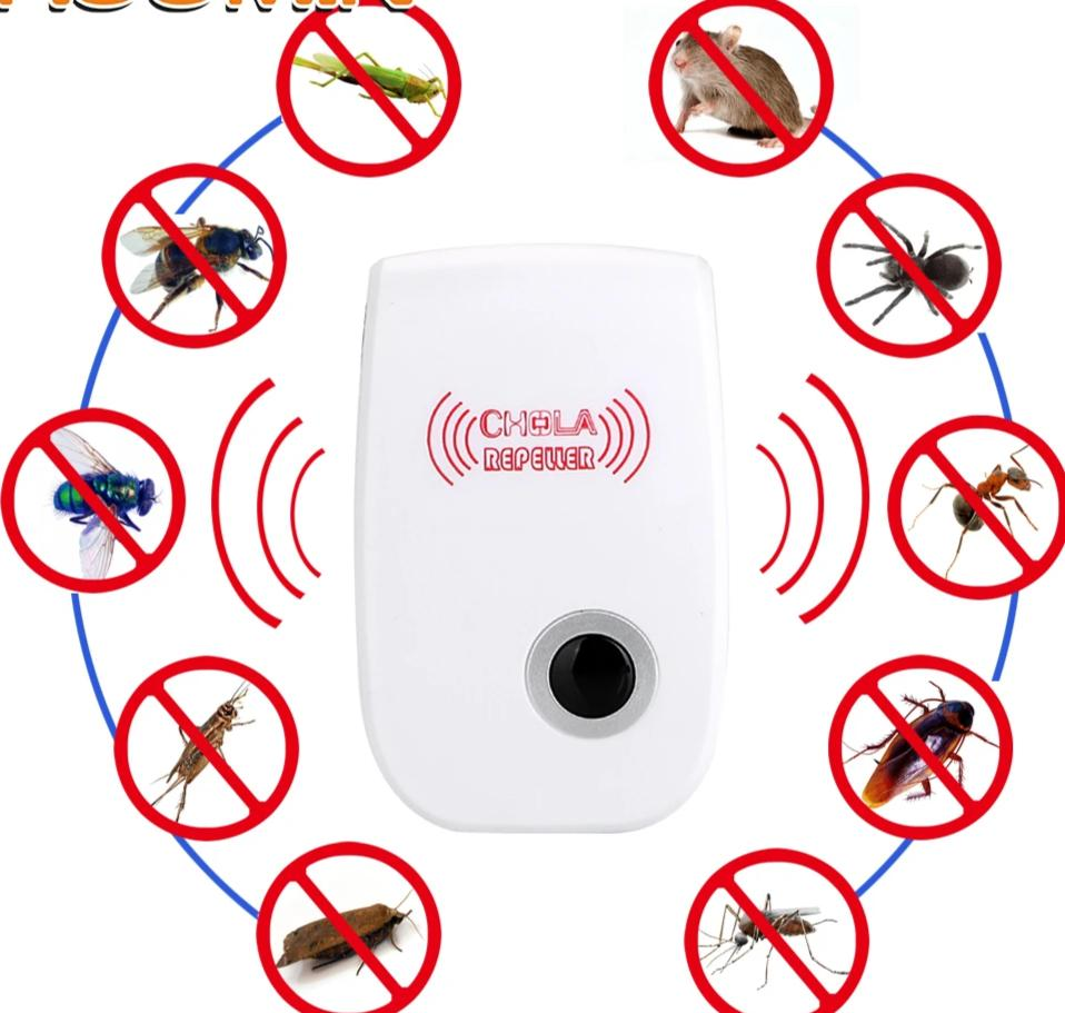 Rodent Control Indoor Ultrasonic Pest Repellent - MosQi