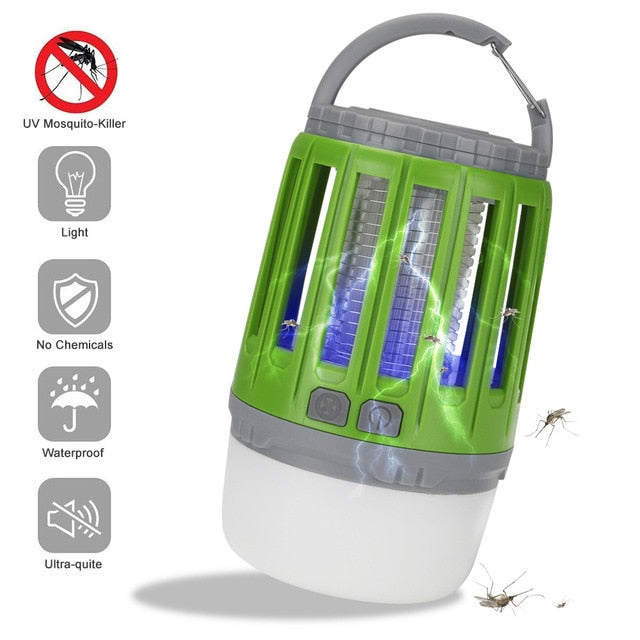Outdoor Rechargeable Waterproof Mosquito Killer Lamp - MosQi