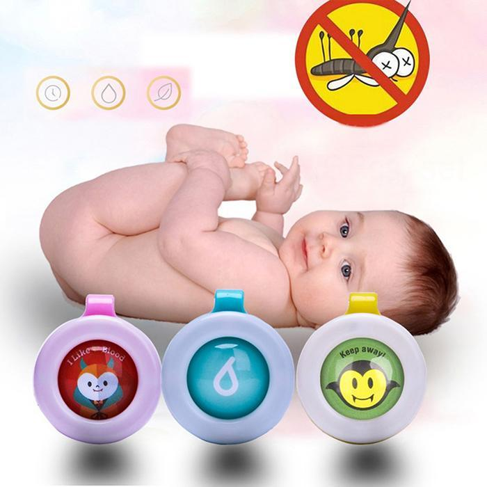 Cute Effective Mosquito Repellent Bracelets & Buttons - MosQi