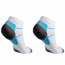 Load image into Gallery viewer, 1 Pair High Quality Foot Compression Socks For Plantar Fasciitis Heel Spurs Arch Pain Comfortable Men Socks Venous ankle sock