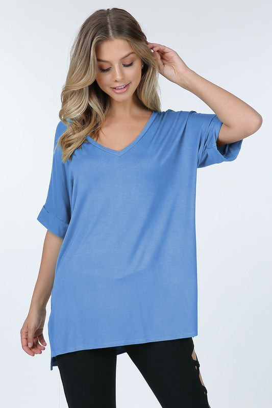LIGHT DENIM TUNIC