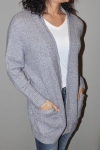 LOOSE FIT CARDIGAN WITH POCKET