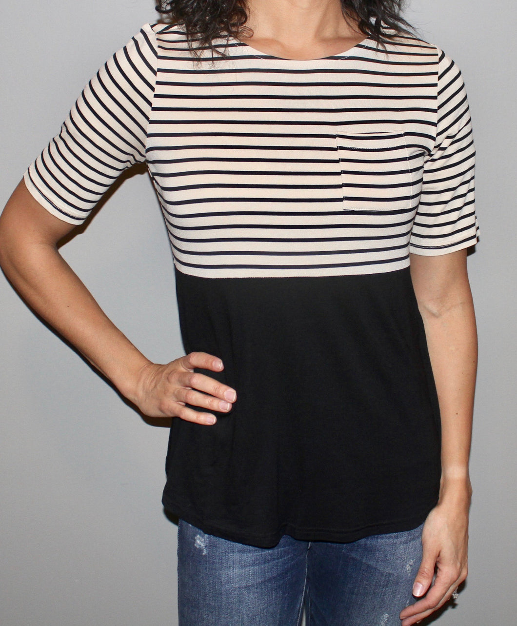 TUNIC STRIPE TOP