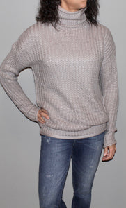 TURTLE NECK SWEATER TUNIC TOP