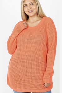 CORAL SWEATER (curvy)