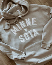 Load image into Gallery viewer, GREY MINNESOTA HOODIE (IN STOCK)