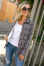 Load image into Gallery viewer, PLAID FLANNEL(CURVY)