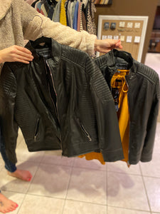 FLAX LEATHER JACKET