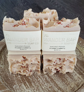 FROSTED CRANBERRY SOAP