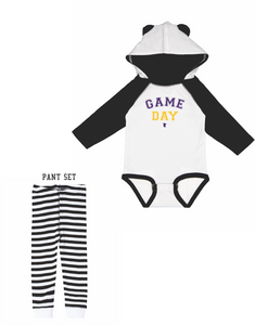 **PRE-ORDER** VIKES GAME DAY BABY SET