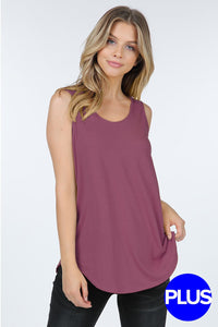 ROSE CASUAL TANK TOP (CURVY)