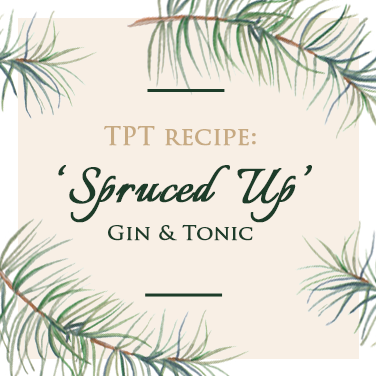Spruce Infused Gin Recipe