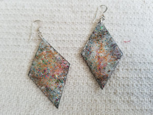 Handmade Diamond Shape Earrings