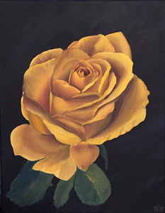 "Yellow Rose ""8x10"" print"