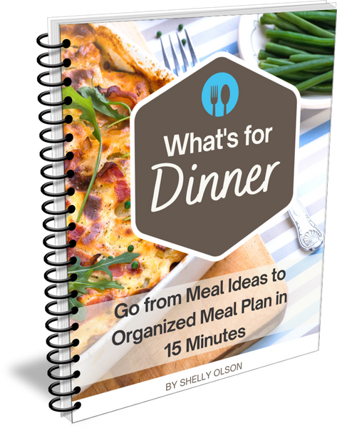 What's for Dinner, Meal Planning in Minutes a Week