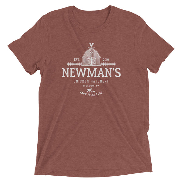 Newman's Chicken Hatchery Short sleeve t-shirt