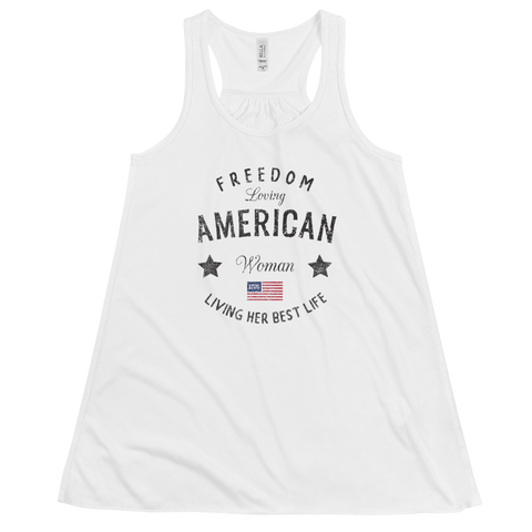 Freedom Loving Women's Racerback Tank