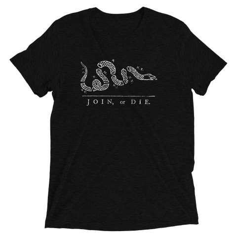 Join or Die Short sleeve t-shirt