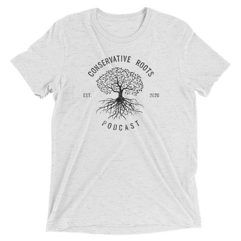 Conservative Roots Podcast Short sleeve t-shirt