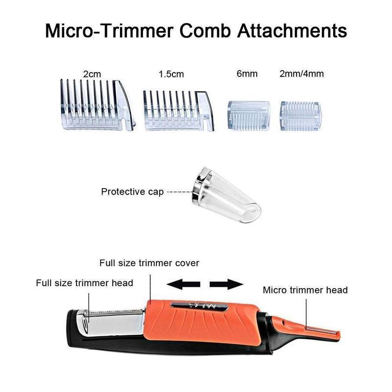 Professional Men's Cordless Hair Cutting Hair Trimmer