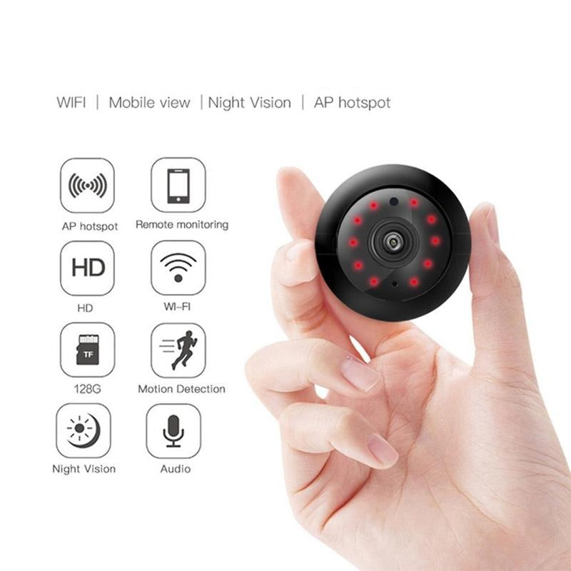 Night Vision Mini Wireless WiFi IP Camera