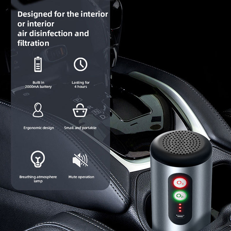 Car Fresh Air Purifier
