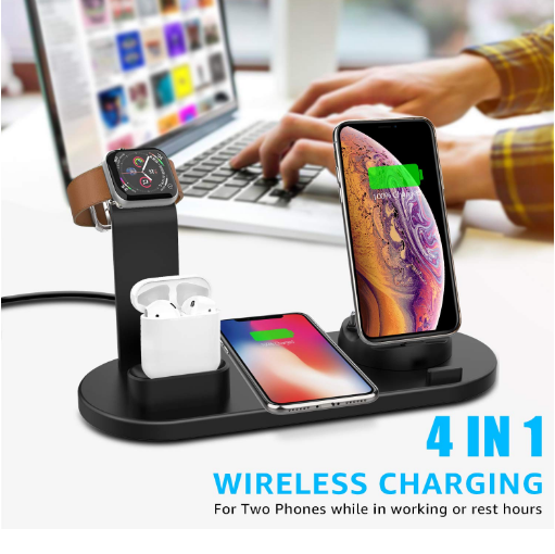 Spartles™ 4-in-1 Wireless Charging Dock Station