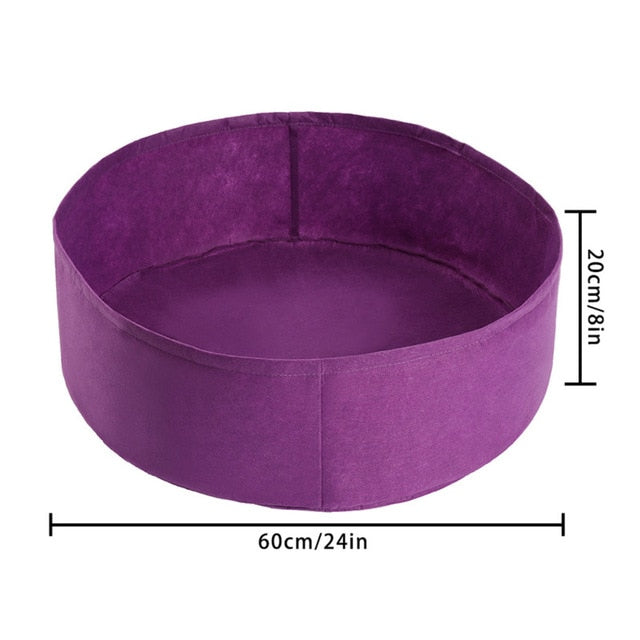 Breathable Felt Fabric Planter Pot