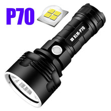 Charger l'image dans la galerie, Super Powerful LED Flashlight L2 XHP50 Tactical Torch USB Rechargeable Linterna Waterproof Lamp Ultra Bright Lantern Camping