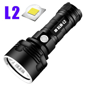 Super Powerful LED Flashlight L2 XHP50 Tactical Torch USB Rechargeable Linterna Waterproof Lamp Ultra Bright Lantern Camping