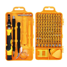 Charger l'image dans la galerie, Vastar 115 in 1 Screwdriver Set Mini Electric Precision Screwdriver for Iphone Huawei Tablet Ipad Home tool set