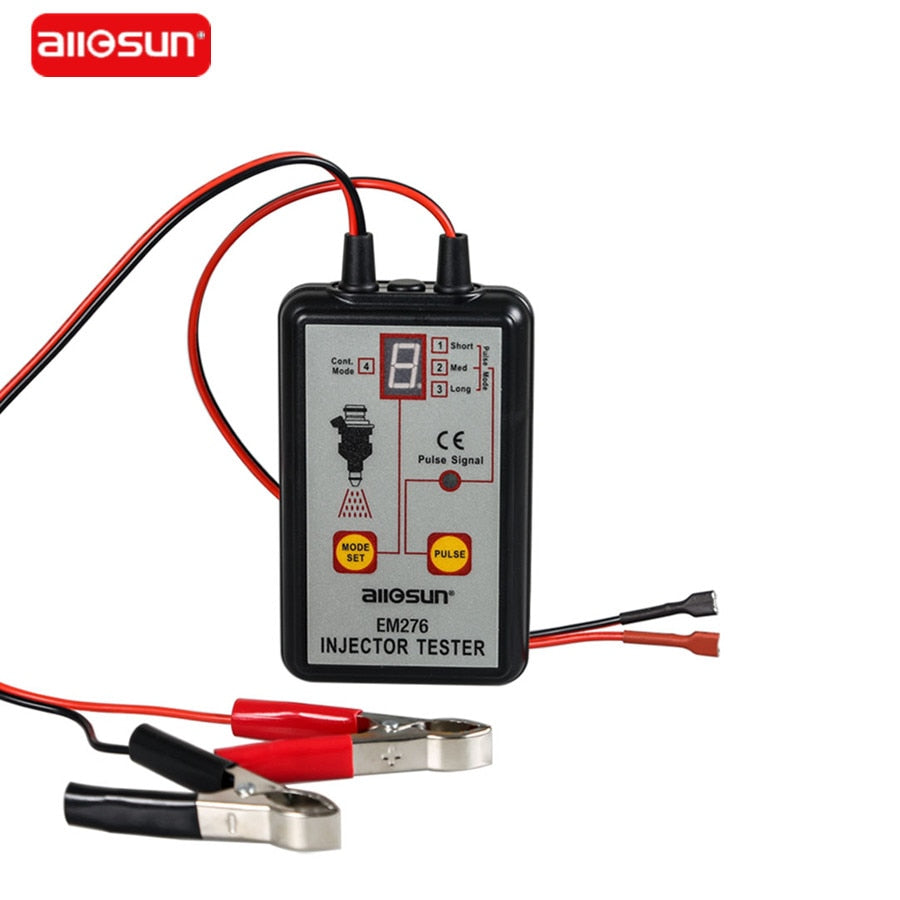All-Sun Professional EM276 Injector Tester 4 Pluse Modes Powerful Fuel System Scan Tool EM276 Injector Tester